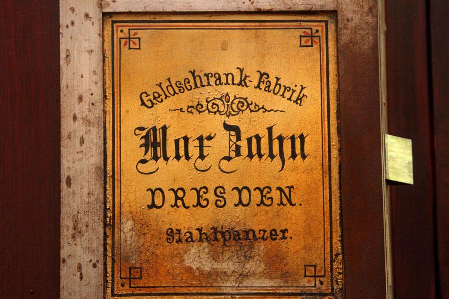 Geldschrank Fabrik Bahn Dresden