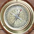 Ein alter Kompass im Retro Style. Erstellung Ihrer Umsatz-, Rentabilitäts- und Liquiditätskennzahlen. Ein Service der Buchhaltung Dresden.
